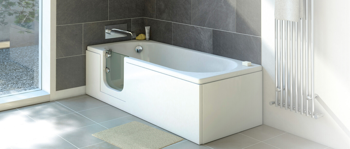A photo of our 'Cascade' bath