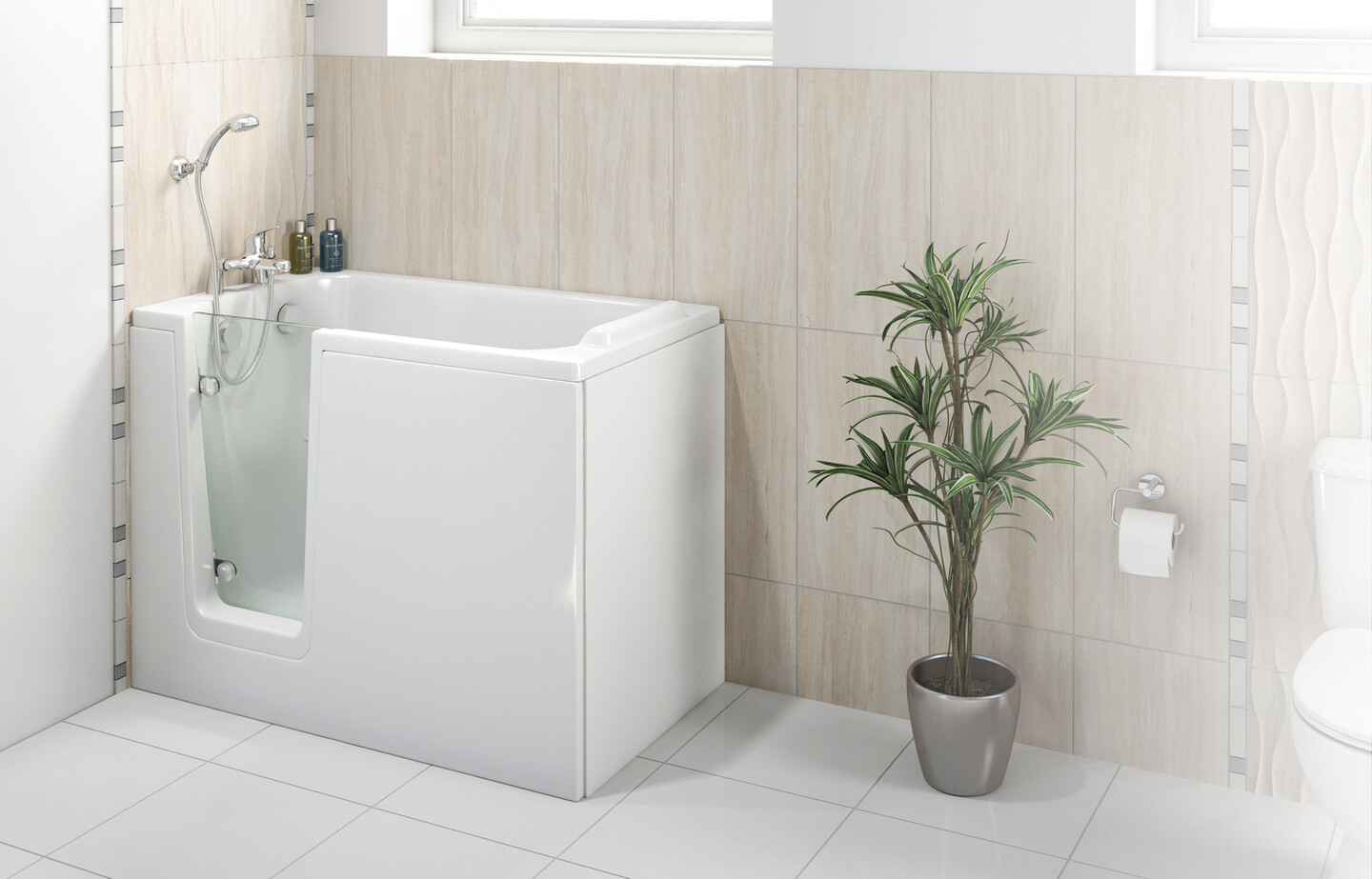 A photo of our 'Comfort' bath