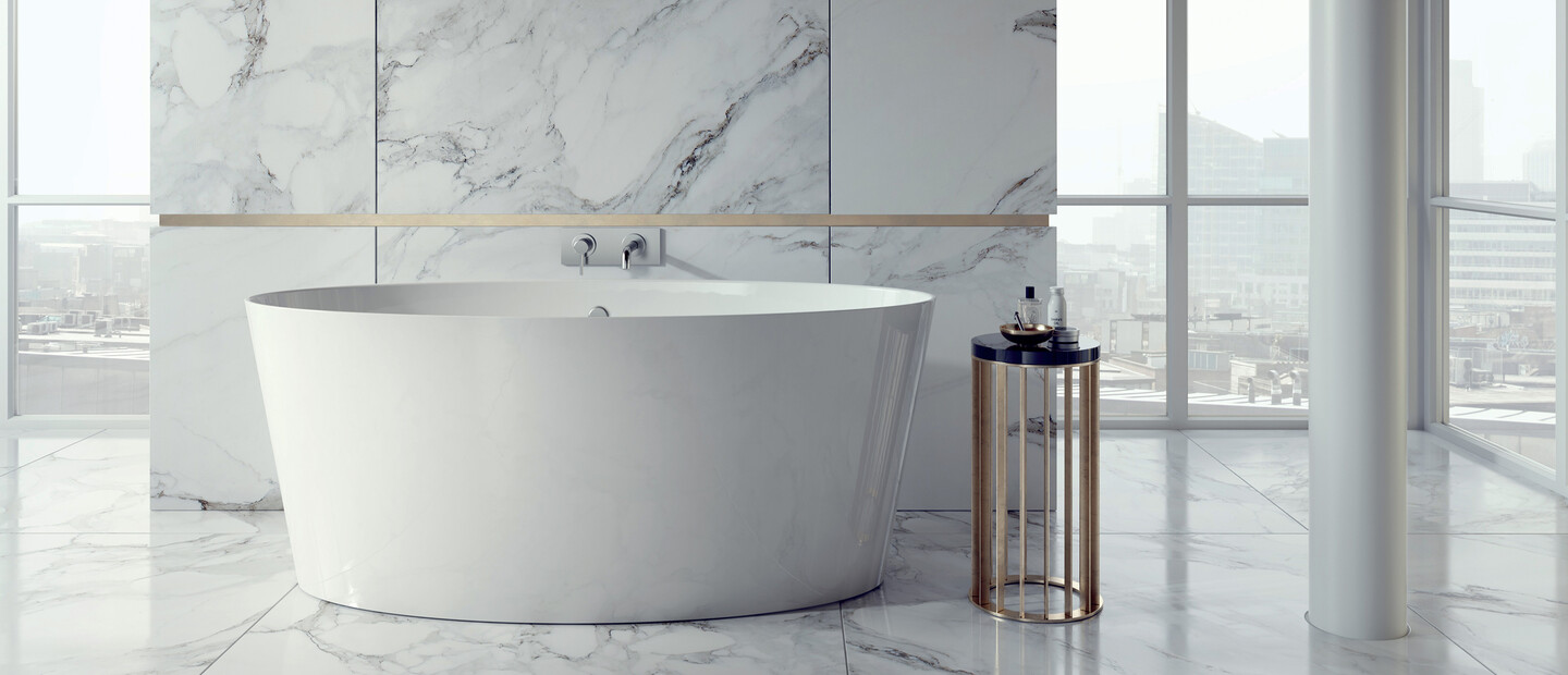 A photo of our 'Hampton' bath