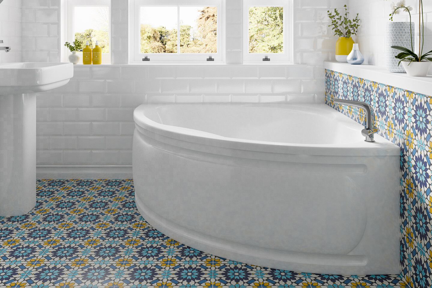 A photo of our 'Laguna' bath